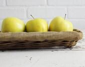 Vintage French Baguette Basket
