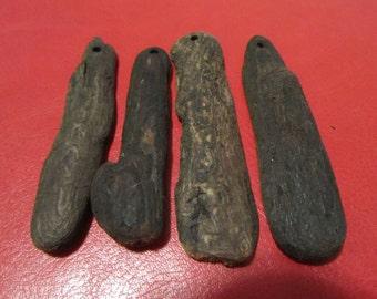 Driftwood Flat Pendants (3)