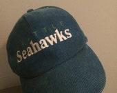 Courderoy Seattle Seahawks Snapback