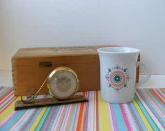 Vintage Atomic Cup, Starburst Cup, Bavaria Germany, Demitasse, Espresso, Small Coffee Cup