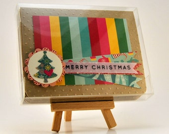 Merry Christmas Greeting Card Set