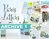 PARIS LETTERS ARCHIVE: 1 Letter from Year 1