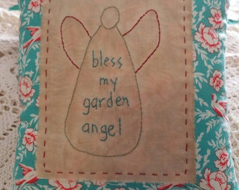 Prim Garden Angel Pillow