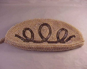 Beaded Clutch Purse Evening Clutch
