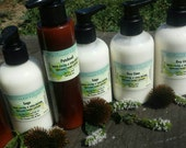 Shea and cocoa  butter lotion with essential oils