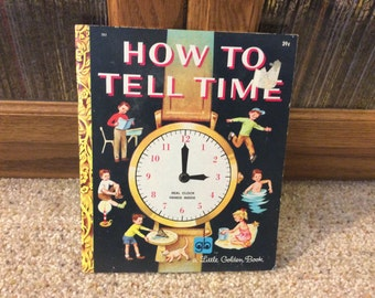 How to Tell Time Little Golden Book