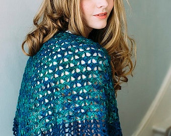 Crochet pattern : Almejas Shawl