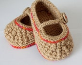Baby Shoes Worsted (weight yarn) PDF file