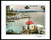 Tides Inn - Irvington VA Virginia  - Marina - Rappahannock River - Northern Neck - Carters Creek - by Richmond VA Photographer Dave Lynch