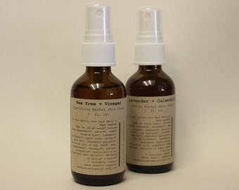 Tea Tree and Vinegar Facial Toner- 2 fl. oz. with Organic Ingredients