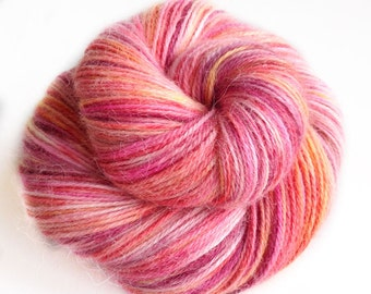MyPrecious Love UnLtd - Alpaca base - Handdyed fingering weight yarn