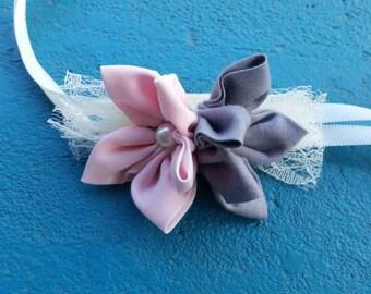 Star flower corsage