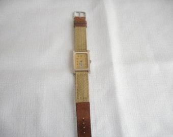 Vintage Allenby Savannah Outfitters 15 Jewels Swiss Men's Wrist Watch