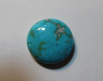 Natural Spider Web Turquoise cab  ....   Nevada ......   9.88 mm x 3.22 mm tall           ..... B2855
