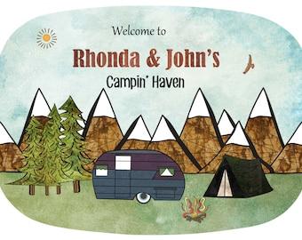 Personalized Camper Platter