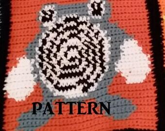 Poliwhirl Individual Pattern