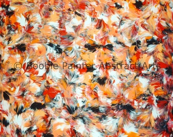 PAINTED BY BREASTS 620 Peachy Bum ~ Marcey Hawk 16x20
