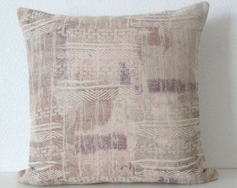 Destination Desert Neutral Eastern Textile Patchwork Pillow Cover