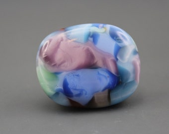 Fused Art Glass Cabochon
