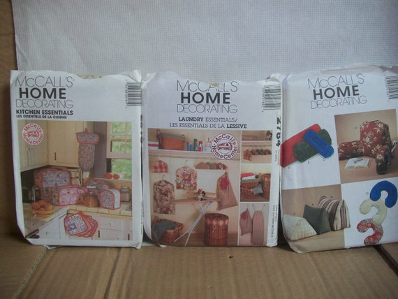 Home Decor Craft Patterns By Mccall S
