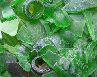 1/2 Pound Surf Tumbled Beach Glass / Sea Glass