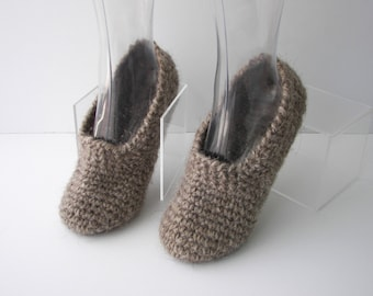 Sheep Wool Slippers Etsy