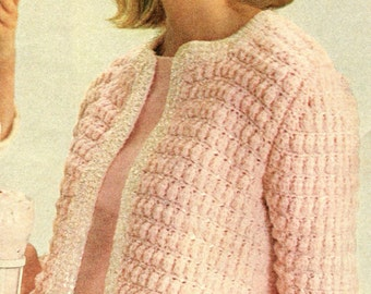 Baby Sweater And Hat, Knitting Pattern. PDF Instant ...