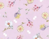 Posy Aneela Hoey Bouquet lilac moda fabric FQ or more