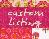 custom listing for Maria Alejandra Alonso