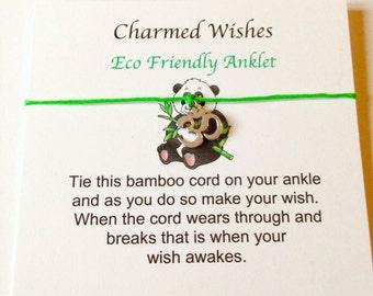 Beach anklet, Eco friendly ankle bracelet, Summer anklet, Hippie anklet, Hippie jewellery, Om anklet, Buddha anklet, Eco friendly
