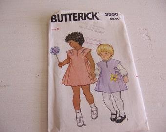butterick # 3530 size 6 pattern