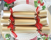 Christmas Crackers - Pure Gold - Gourmet Set of 3