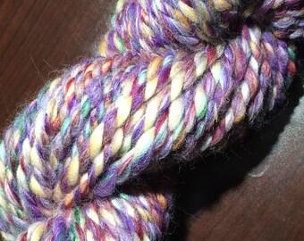 Rose Quartz Handspun Merino Yarn - 52 yards - Super Bulky