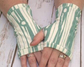 Womens Fingerless Gloves - Organic arm warmers- Short Gloves - Fingerless mitts- Texting Gloves-Driving Gloves-Best Seller-Handmade