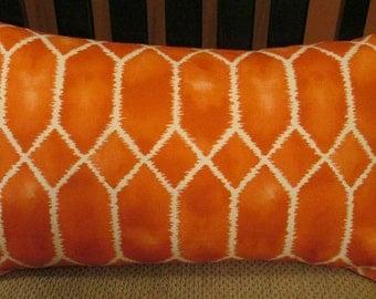Richloom Tangerine 12 x 20 Pillow Cover