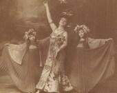 Mata Hari's Arch Rival, Suzy Deguez, Queen of the May. N.P.G. circa 1905
