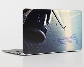 laptop iPad skin - coming back