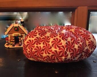 Christmas AG Doll Bean Bag Chair -  Snowman, Peppermint, Santa, Snow, Red, Green, White, December, Snow, Snowflake, Etsy Kids, Gift under 15