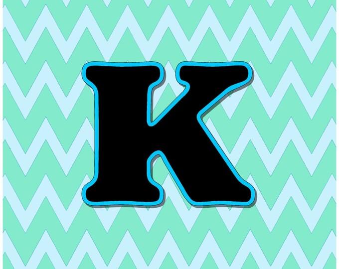Letter K Digital Download