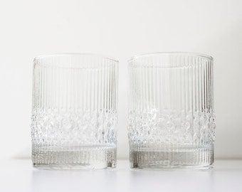 Vintage Durobor Glasses- Belgium - Alaska Pattern