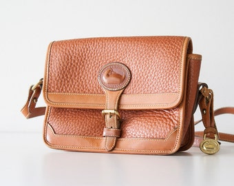 Vintage Dooney & Bourke - Rust Tan Leather Purse