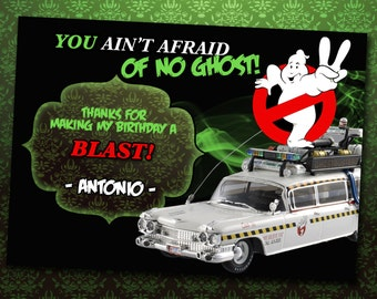 Ghostbusters Thank You Cards *Digital Download*
