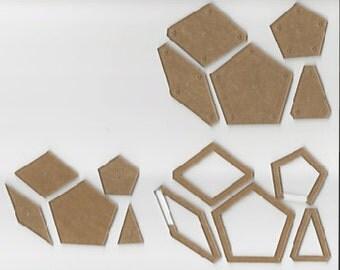 La Passacaglia Acrylic Quilt Templates