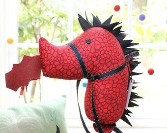 Dragon Stick Horse, Hobby Horse Dragon