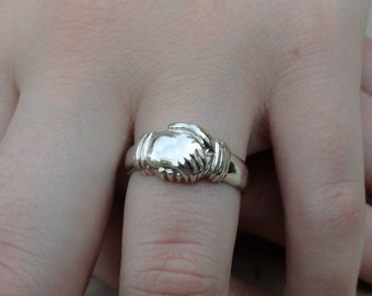 Sterling Silver Hand Ring