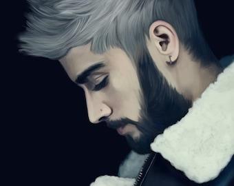 Zayn Malik Artprint