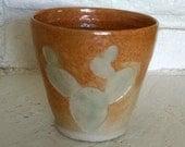 Cactus Cup, Ceramic Cup, Ceramic Vase, Cactus Decor, Cactus Vase, Succulent Pot