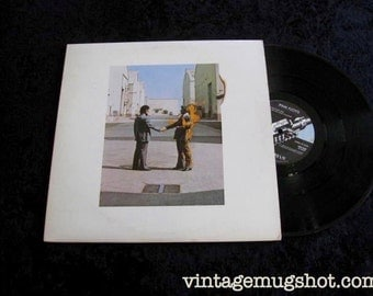 PINK FLOYD Lp Vinyl Record Wish You Were Here Super Clean NM- Rock and Roll