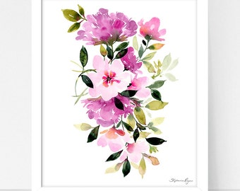 Art Print Blooming
