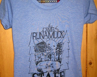 Womens Camp Runamuck Tri Blend T Shirt